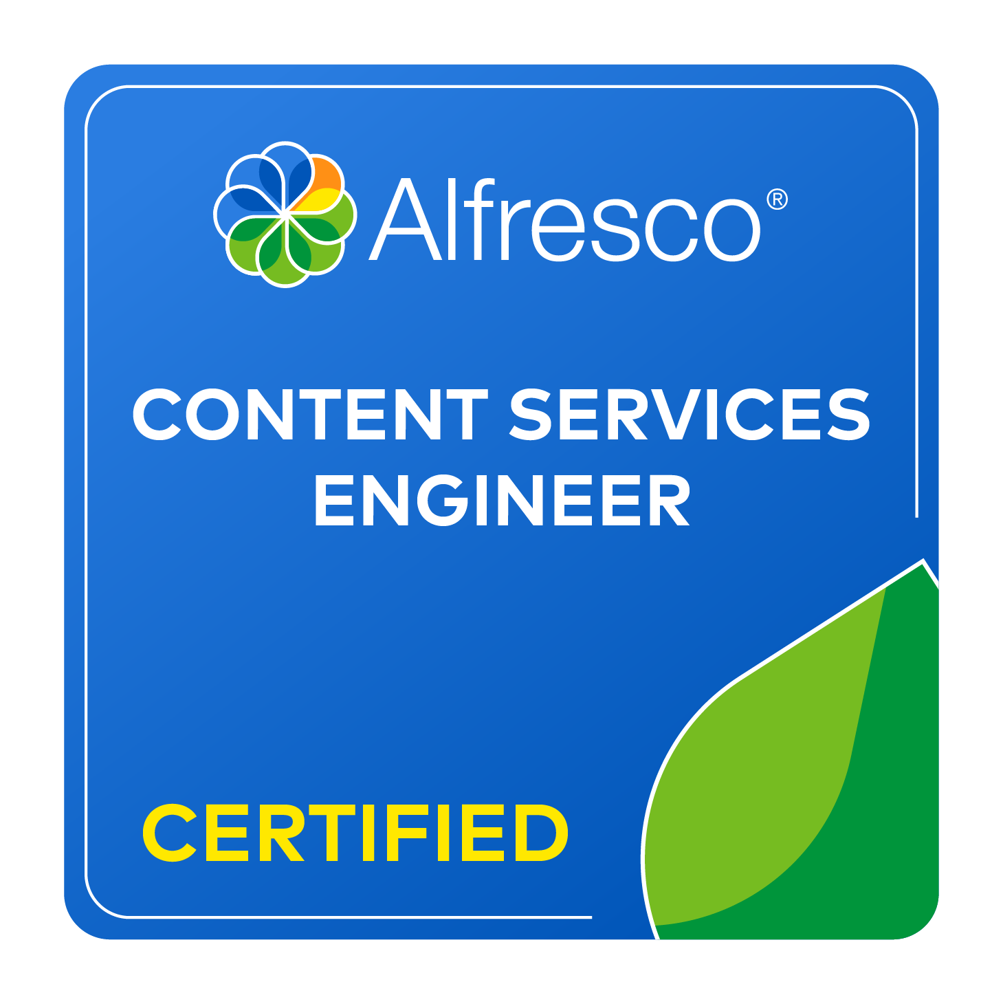 Certification Alfresco